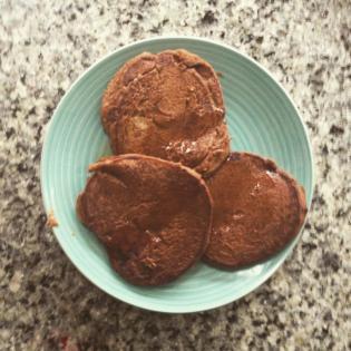 Chocsweetpotpancakes