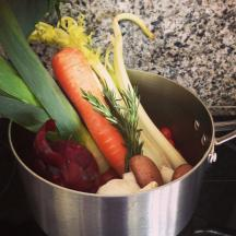 Vegetable stock 2