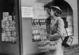 WWII Europe British Isles Defense Food Markets