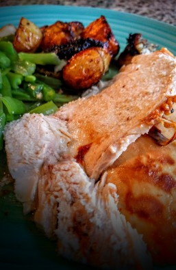 sticky-roast-chicken