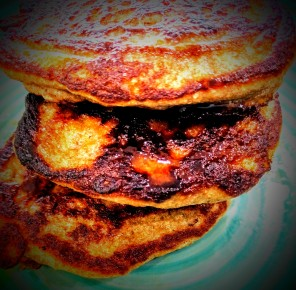 date-and-banana-pancakes