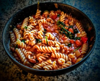 Turkey and Borlotti Bean Bolognaise