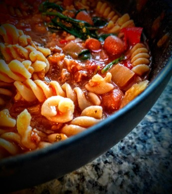 Turkey and Borlotti Bean Bolognaise1