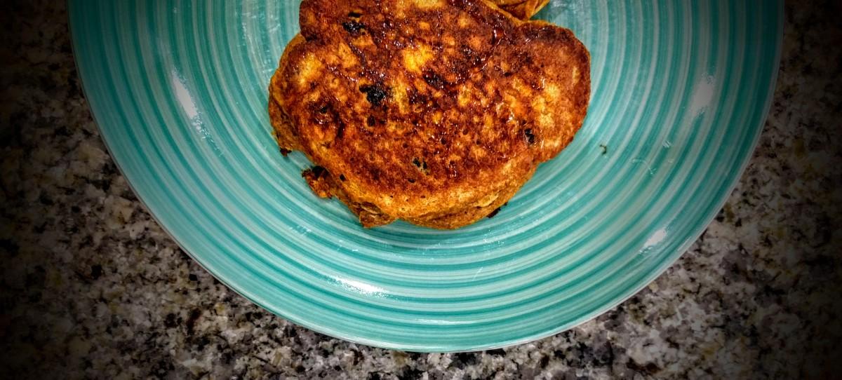 Carrot Cake Pancakes 6