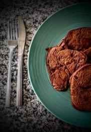 Chocolate Sweet Potato Pancakes 5
