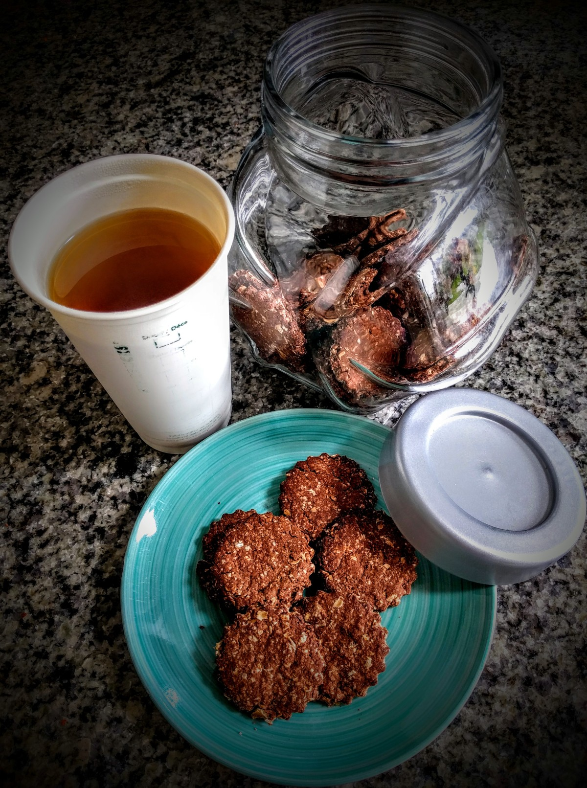 Chocolate and Ginger Digestives