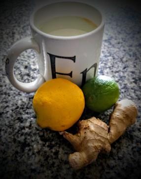 Lemon, Lime and Ginger Tea 3