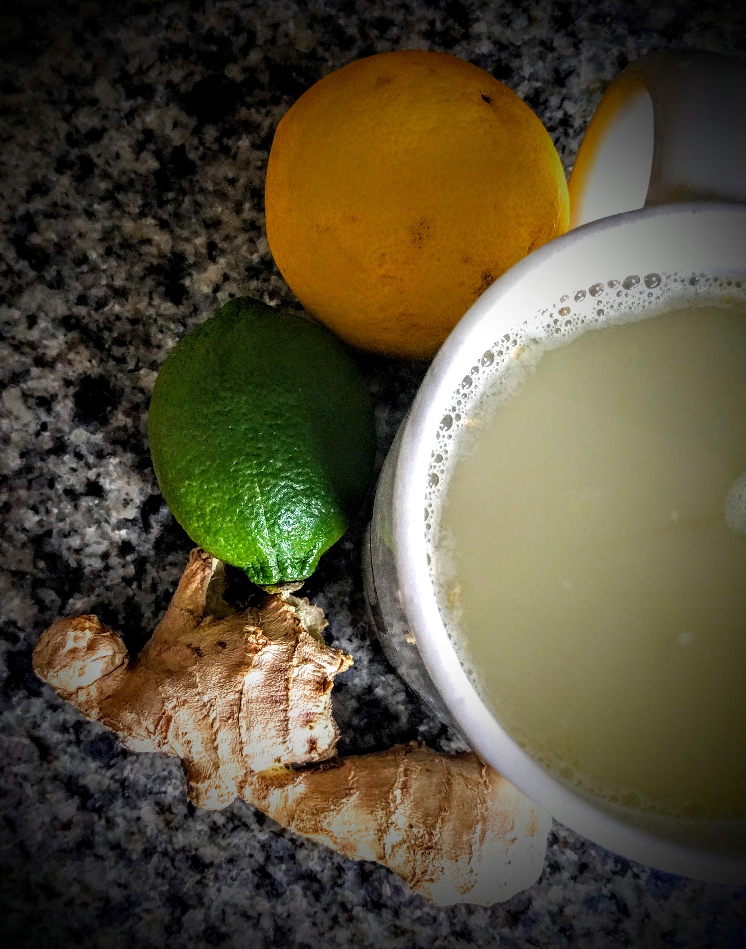 Lemon, Lime and Ginger Tea 4