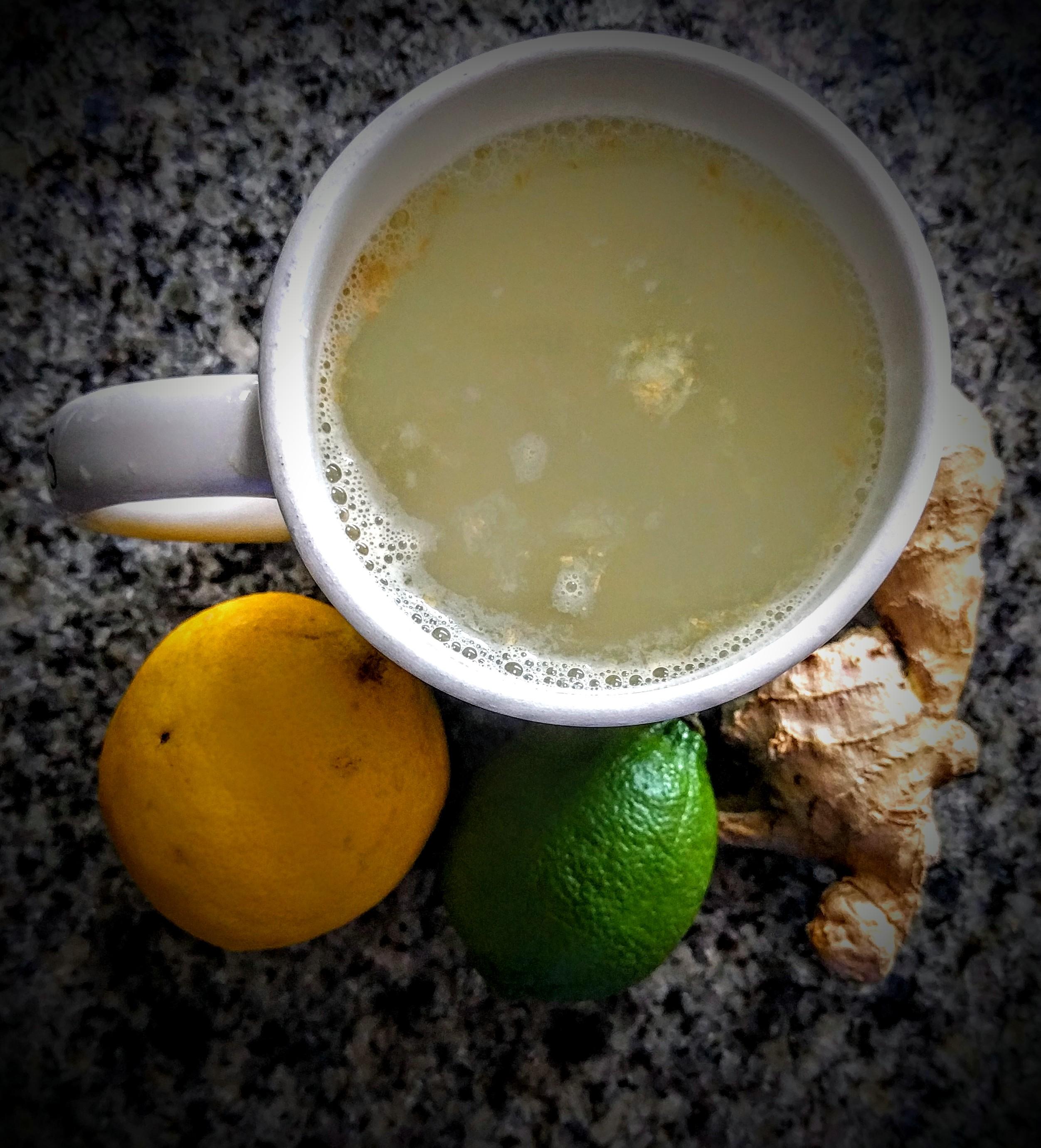 Lemon, Lime and Ginger Tea
