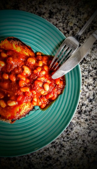 Spicy Baked Beans and Sweet Potato Jacket 4