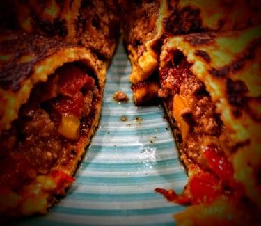 Chicken or Beef Enchiladas 5