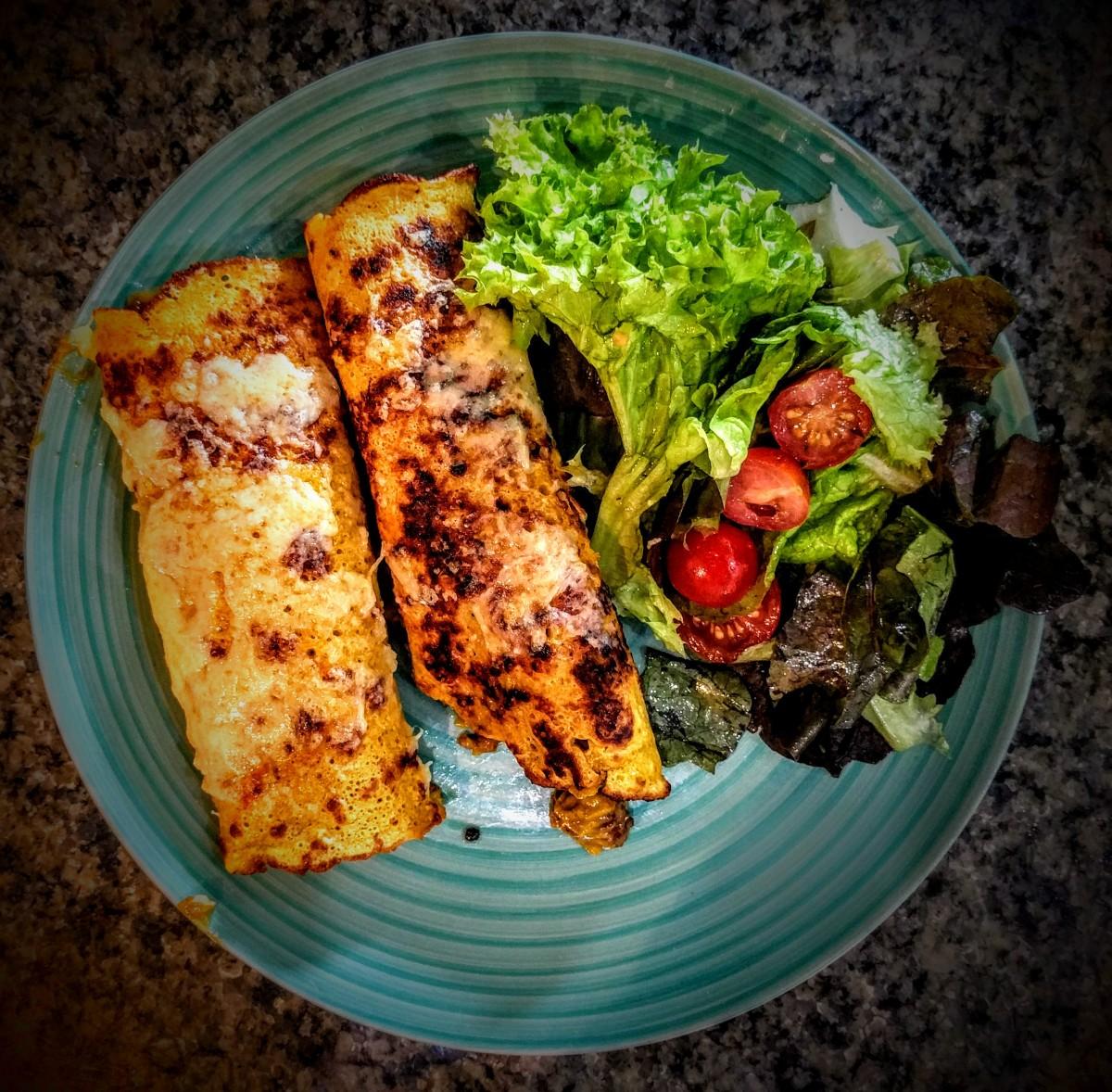 Chicken or Beef Enchiladas 6