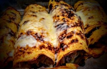 Chicken or Beef Enchilidas