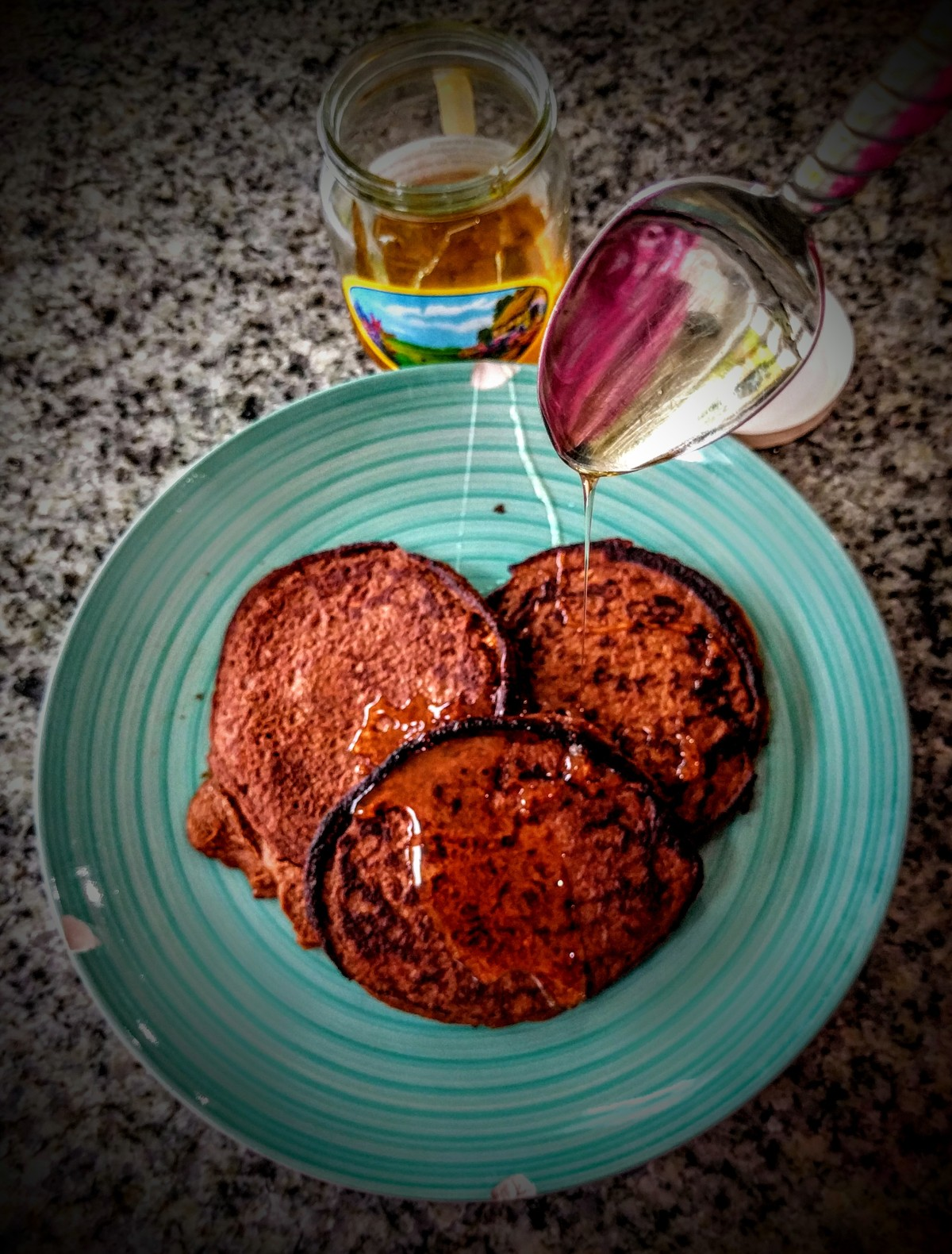 Chocolate Orange Sweet Potato Pancakes 4