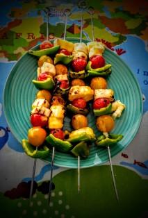 Hozza's Halloumi Kebabs with Mummy's Mango Marinade 1