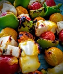 Hozza's Halloumi Kebabs with Mummy's Mango Marinade 5