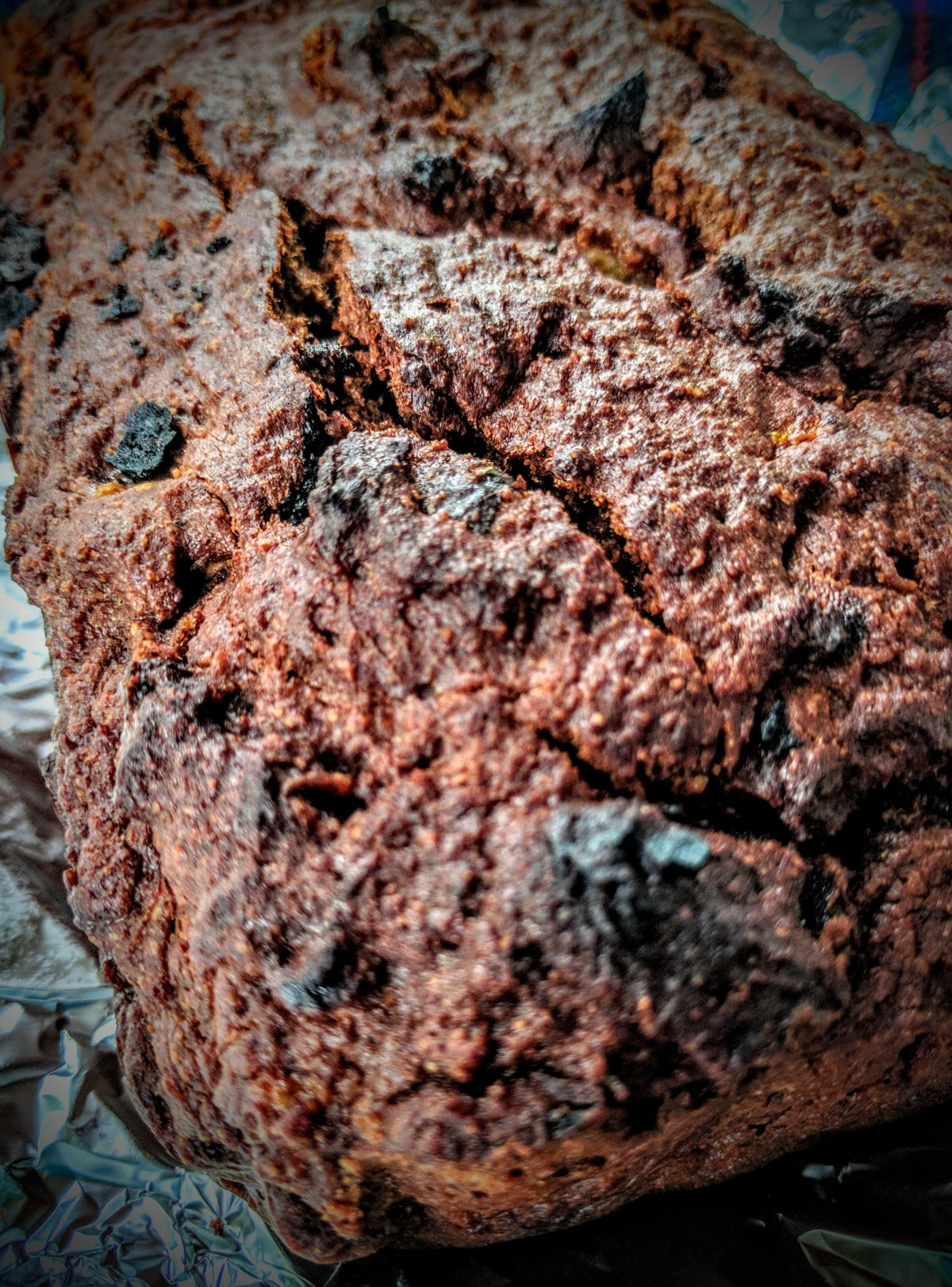 Chocolate, Banana and Date Bread 3