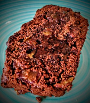 Chocolate, Banana and Date Bread 7
