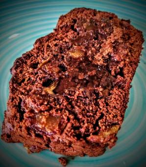 Chocolate, Banana and Date Bread 7