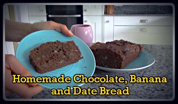 HomemadeChocolateBananaandDateBread