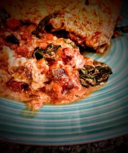 Vegan Cheesy Lasagna 1