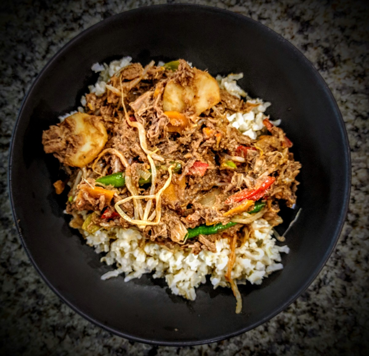 Stir Fry Beef in a Plum Sauce 1