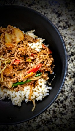 Stir Fry Beef in a Plum Sauce 5