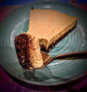 Chocolate Pumpkin Pie Cheesecake 3