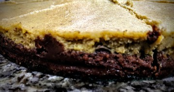 Chocolate Pumpkin Pie Cheesecake