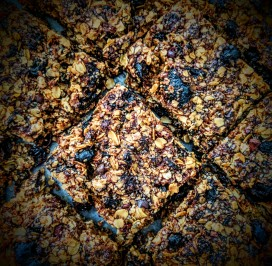 Dried Prunes and Chocolate Chips Flapjacks 4