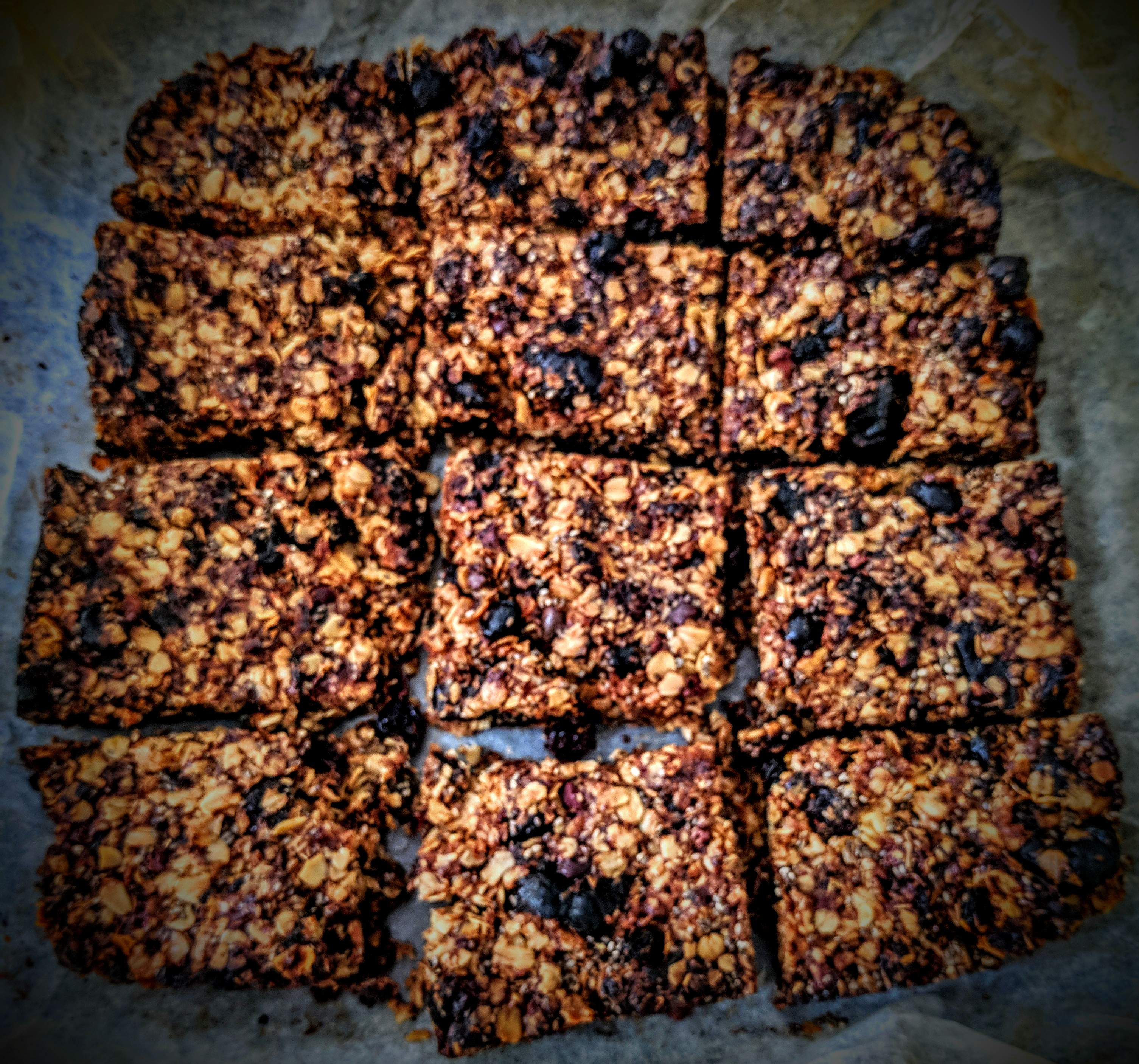 Dried Prunes and Chocolate Chips Flapjacks 6