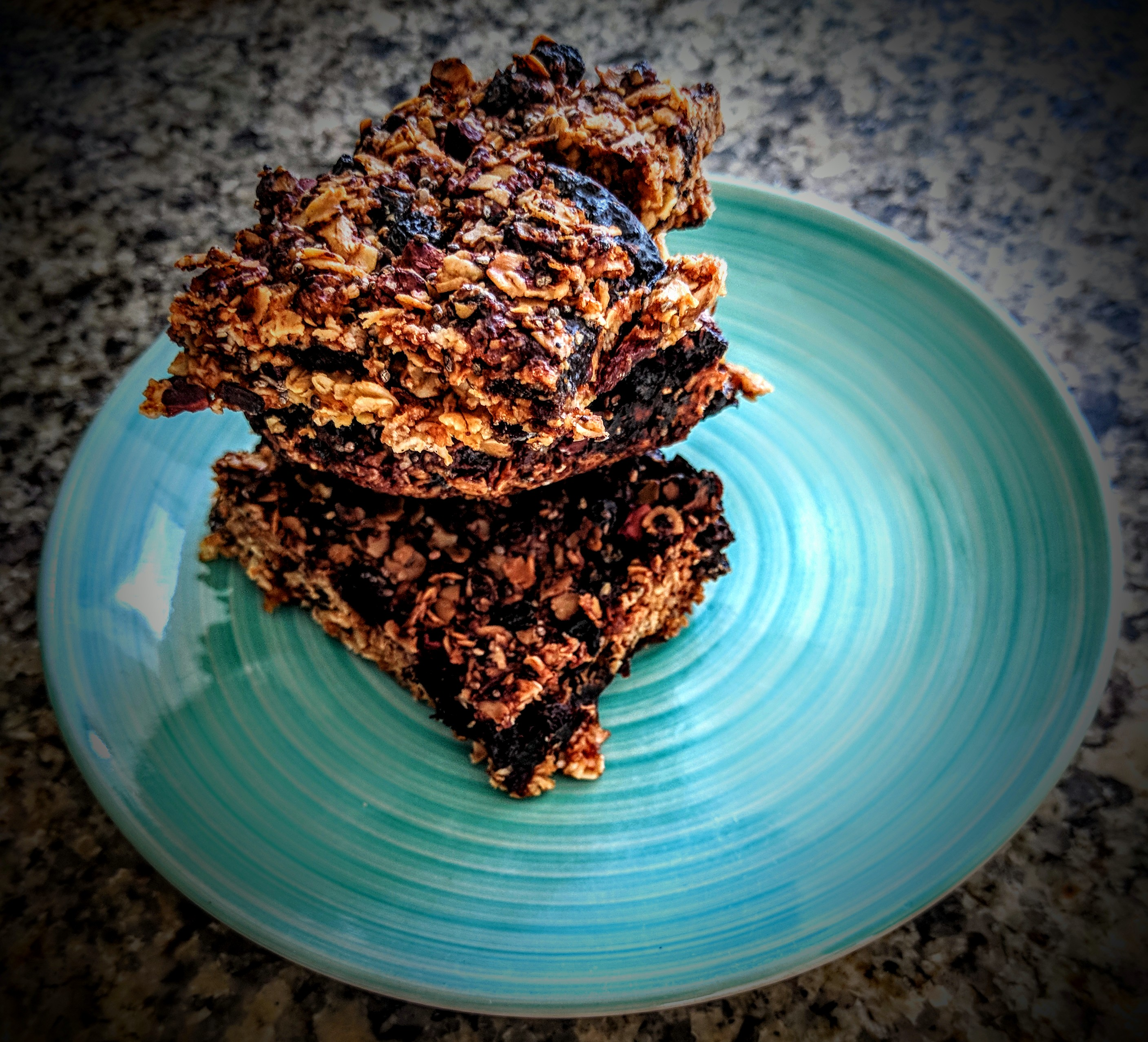 Dried Prunes and Chocolate Chips Flapjacks 7