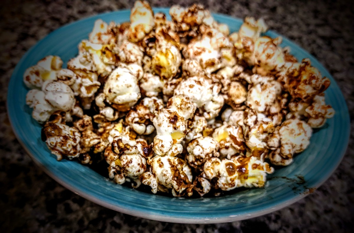 Sweet and Salty Popcorn 3
