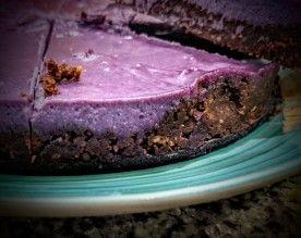 Blackberry and Chocolate Cheesecake 3