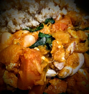 Butter Beans and Chicken Stew 3
