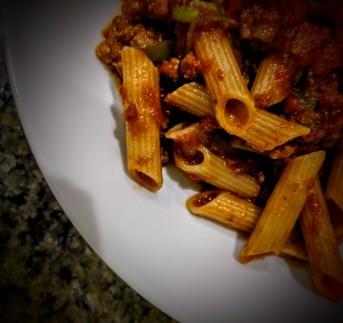 Chocolate Spaghetti Bolgnese 1