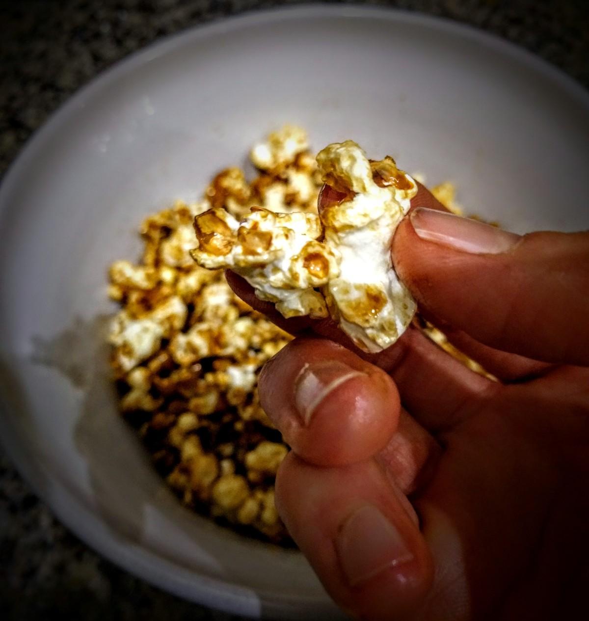 Salted Caramel Popcorn 1
