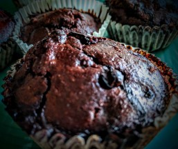 Blueberry and Chocolate Muffins 2