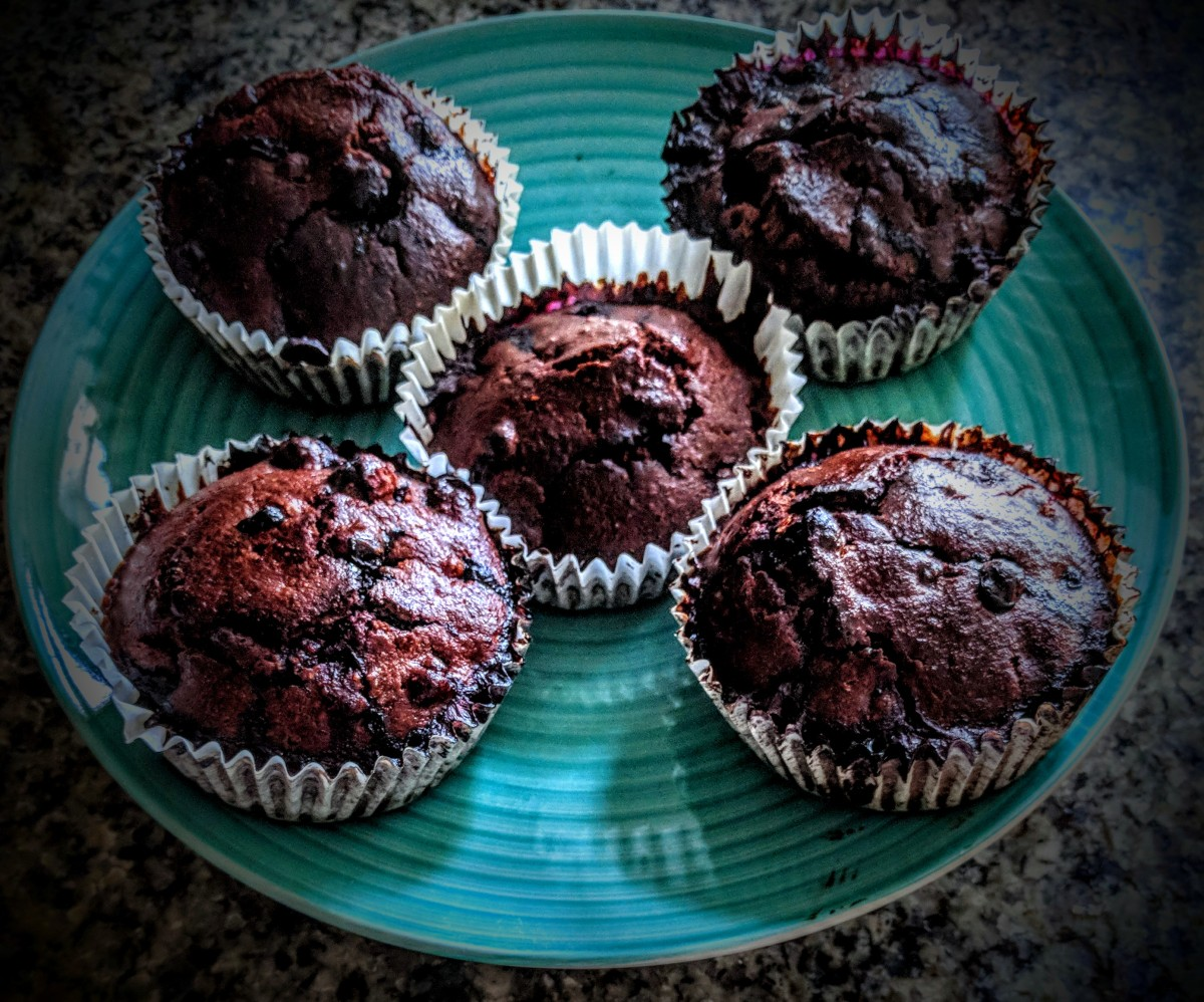 Blueberry and Chocolate Muffins 3