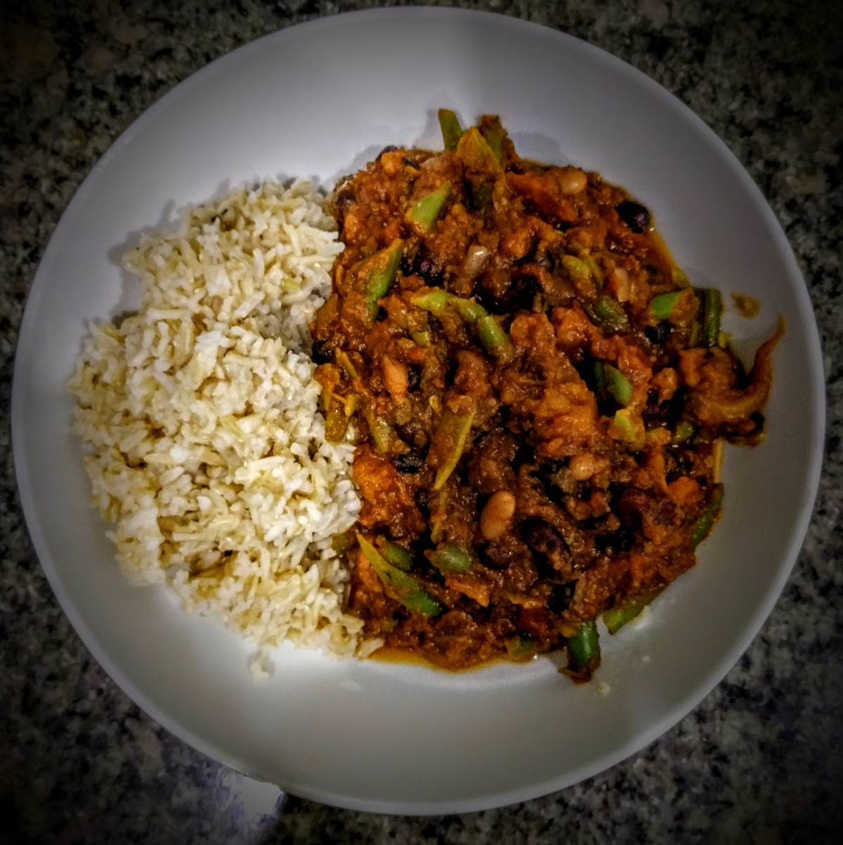 Chocolate Four Bean Chilli 7