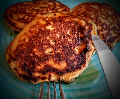 Chocolate and Prune Pancakes 8