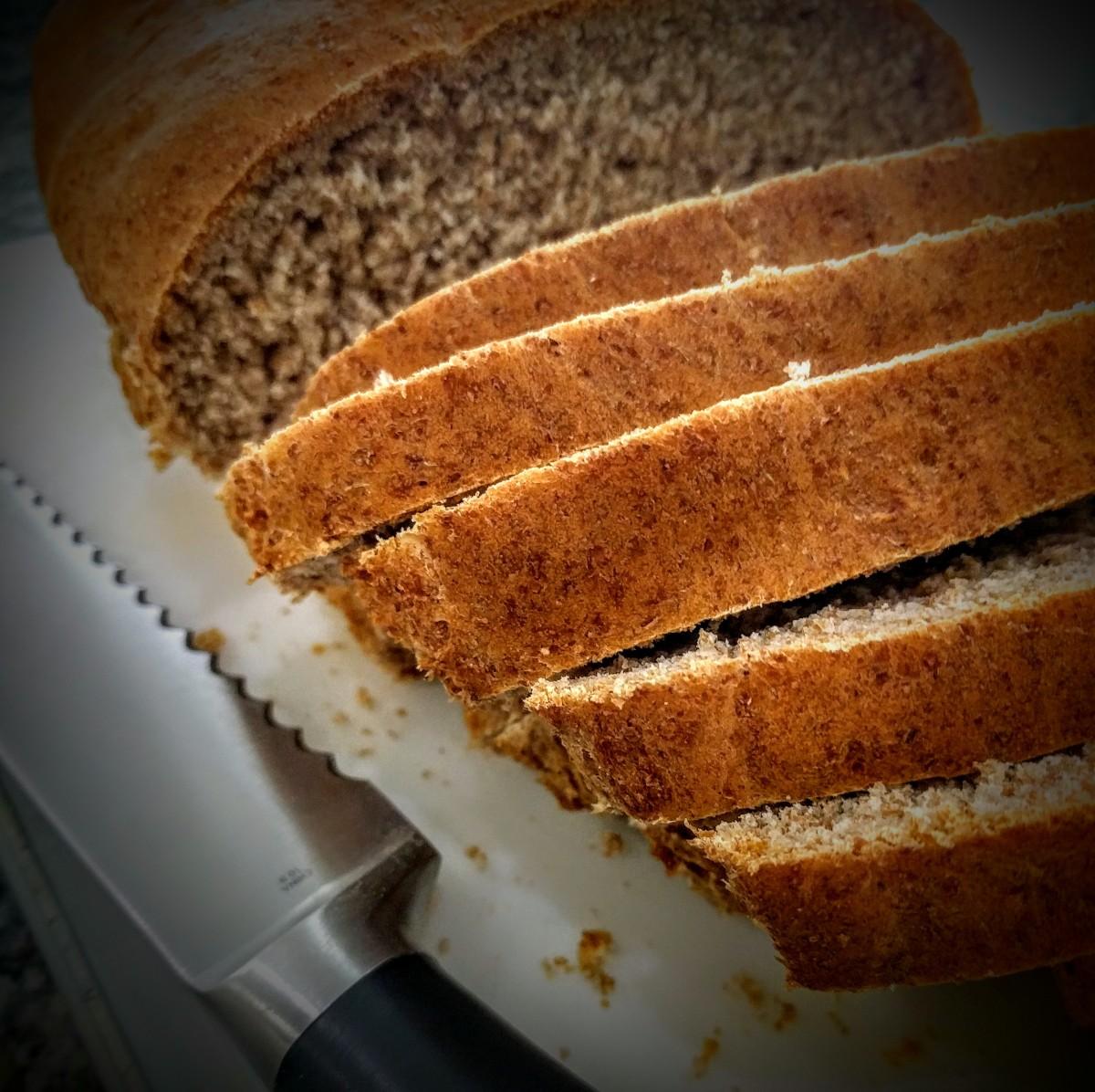 Spelt Flour Bread 7