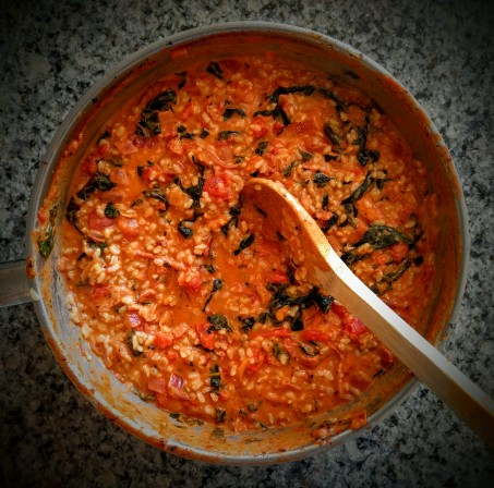 Tomato and Bacon Risotto2