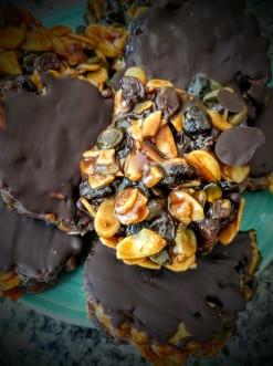 Mini Chocolate Florentines 6