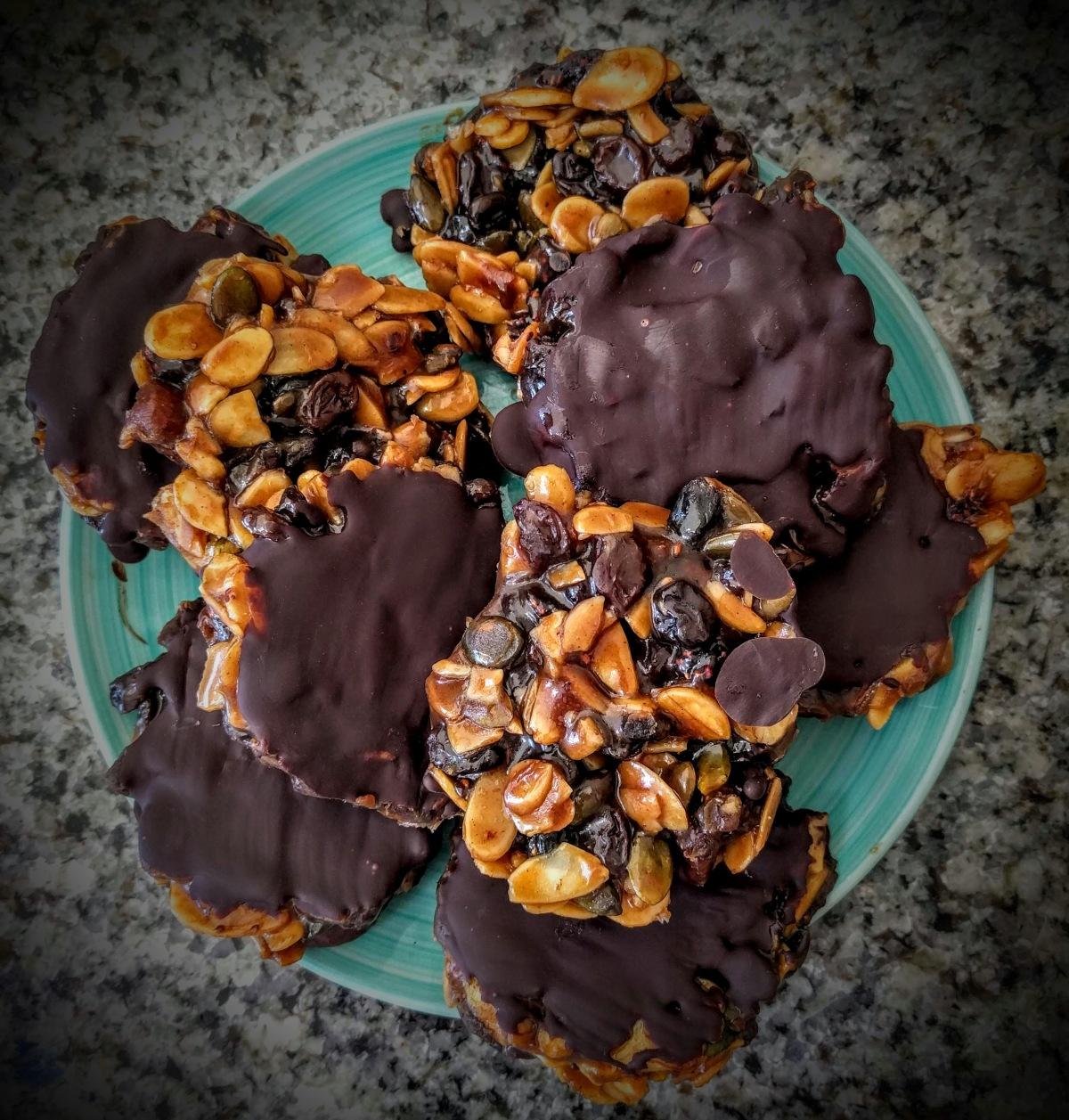 Mini Chocolate Florentines 9