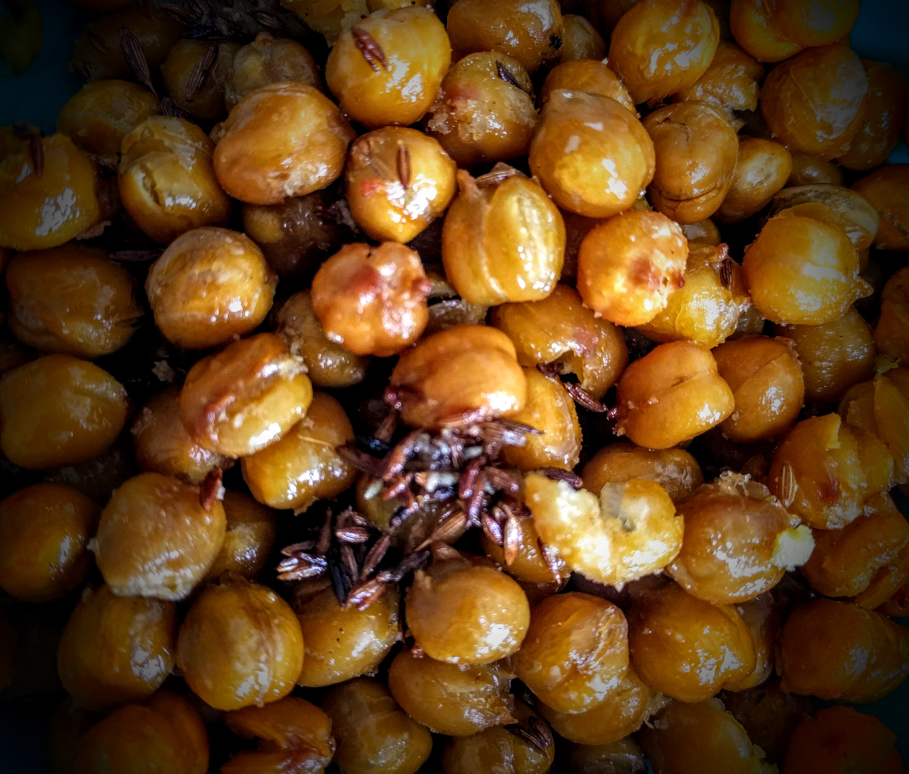 Roasted Chickpea with Cumin Seeds