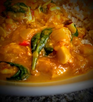 Spicy Chicken Coconut Curry 2