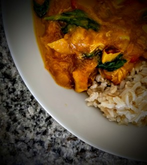 Spicy Chicken Coconut Curry 6