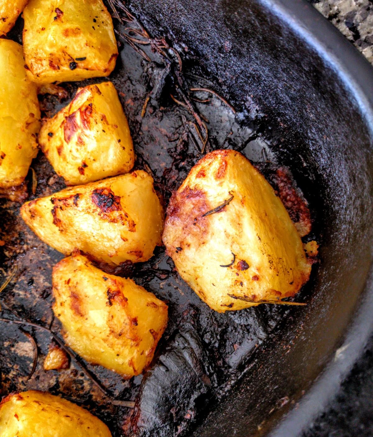 The Perfect Roast Potatoes 6