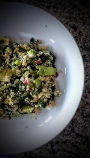 Warm Winter Salad 4